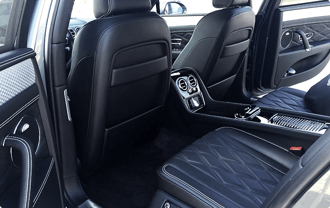 Riga Luxury Sedans - Bentley Flying Spur - Interior
