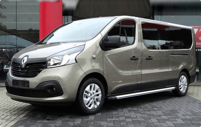 Riga Limo Service - Mini Buses and Vans - Renault Trafic